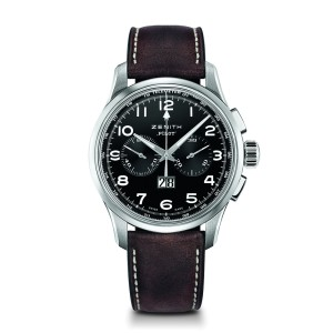 ZENITH Pilot Big Date 03.2410.4010/21.C722 Brown Calfskin 42mm Mens Watch
