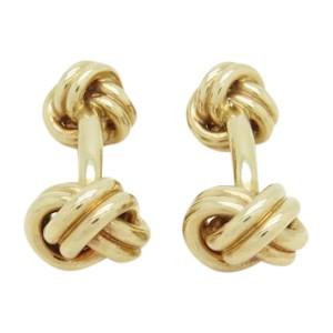 Tiffany & Co. Double Love Knot Cufflinks