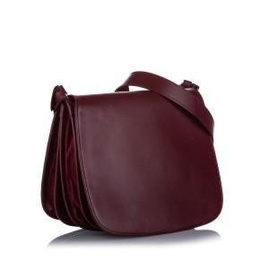 Must de Cartier Leather Crossbody Bag