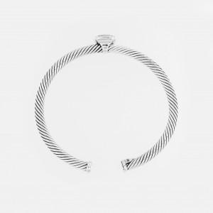 David Yurman Albion Bracelet with Citrine and Diamonds