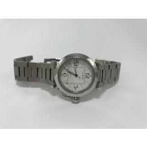 Cartier Pasha 2324 C 35mm Mens Watch