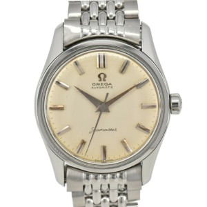 Vintage OMEGA Seamaster Cal.501 Silver Dial SS/SS Automatic Men's Watch