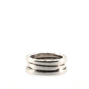 Bvlgari B.Zero1 Two Band Ring 18K White Gold 6 - 52