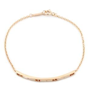 TIFFANY&Co. 18K Pink Gold Diamond Bracelet CHAT-403