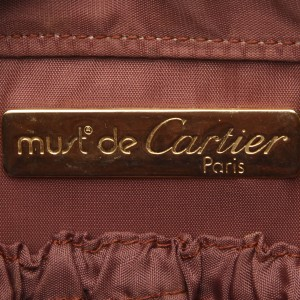 Must de Cartier Leather Clutch bag