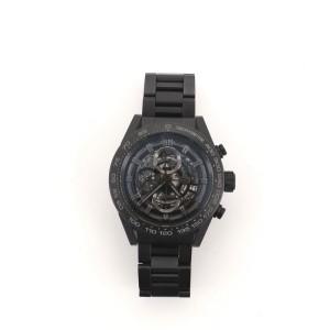 Tag Heuer Carrera Calibre Heuer 01 Chronograph Automatic Watch Ceramic 45