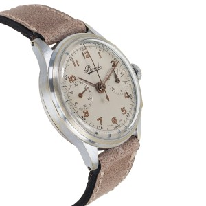 Vintage Bovet Chrono Unisex Watch in Stainless Steel
