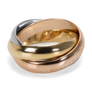 Cartier Les Must de Cartier Trinity Ring in 18K Yellow, White & Rose Gold