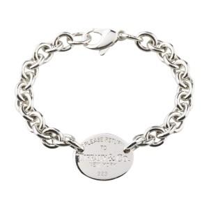 1772aad7c9d7d Tiffany & Co. Please Return To Tiffany Oval Tag Bracelet | | Buy at  TrueFacet