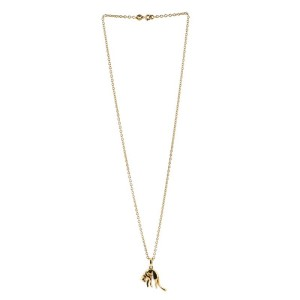 Cartier Vintage Panther Pendant Necklace 18K Yellow Gold
