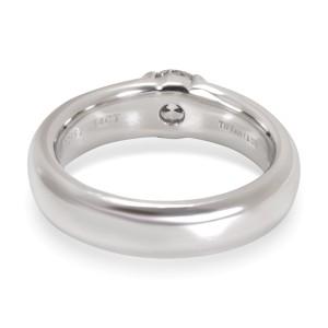 Tiffany & Co. Semi Bezel Diamond Engagement Ring in Platinum (0.54 ct E/VVS2)