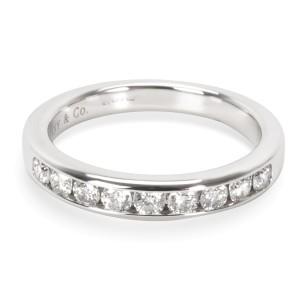 Tiffany & Co. Channel Set Diamond Wedding Band in Platinum (0.24 CTW)