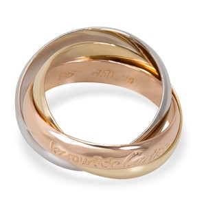 Cartier Le Must De Cartier Trinity Ring in 18K Yellow, White & Rose Gold