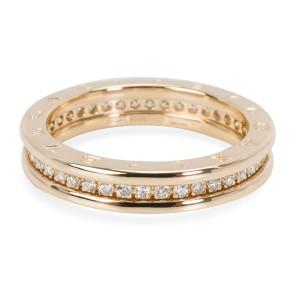 Bulgari B. Zero 1 Diamond Ring in 18KT Yellow Gold 0.6 CTW