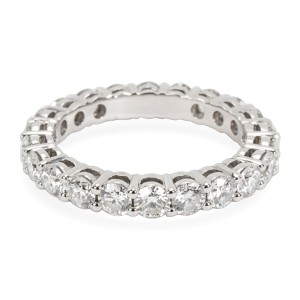 Tiffany & Co. Shared Prong Eternity Diamond Band in  Platinum 1.8 CTW