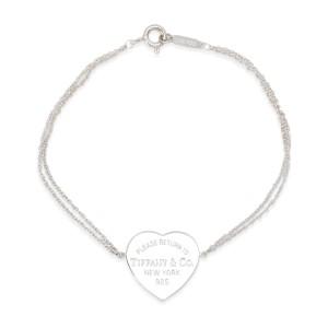 Tiffany & Co. Heart Tag Bracelet in  Sterling Silver