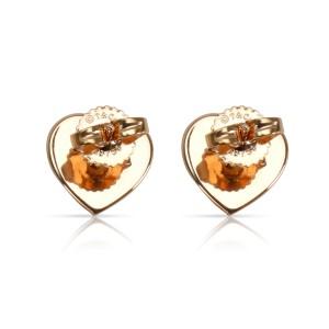 Tiffany & Co. Return to Tiffany Heart Stud Earring in 18K Rose Gold