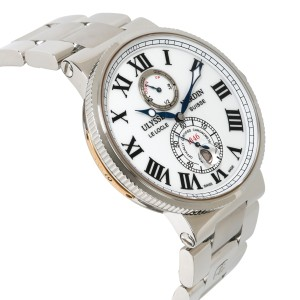 Ulysse Nardin Maxi Marine 263-67-7M Men's Watch in  Stainless Steel