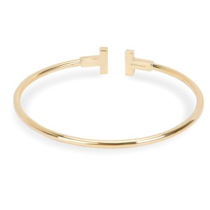 Tiffany & Co. T Wire Bracelet in 18K Yellow Gold