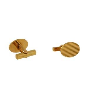 Tiffany & Co 14K Yellow Gold Men's Cufflinks