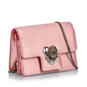 Insignia Satin Crossbody Bag