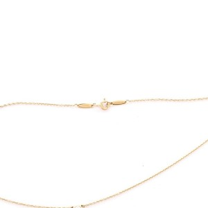 Tiffany & Co. Elsa Peretti Color By The Yard Pendant Necklace 18K Yellow Gold and Diamond 0.14CT