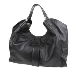 Leather Stirrup Tote Bag