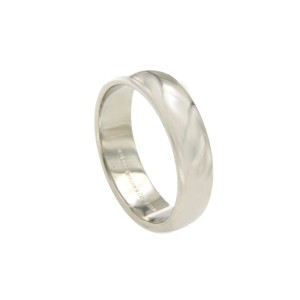 Tiffany & Co. 950 Platinum Wide Wedding Band Ring Size 9.5