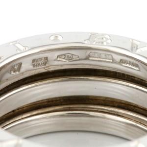 BVLGARI 18K white Gold B-zero.1 Ring CHAT-80