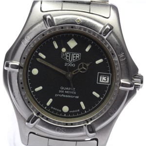 Tag Heuer 2000 962.006 Stainless Steel Quartz 37mm Mens Watch