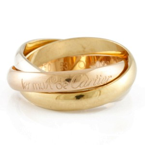 CARTIER 18K Pink Gold 18K yellow Gold 18K white gold Ring