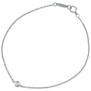Tiffany & Co. Pt950 Platinium By The Yard Necklace
