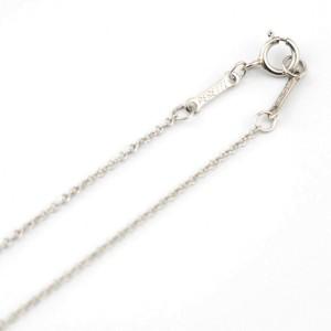 TIFFANY&Co. Platinum Diamond Necklace CHAT-354