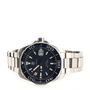 Tag Heuer Aquaracer 300M Calibre 5 Automatic Watch Stainless Steel 41