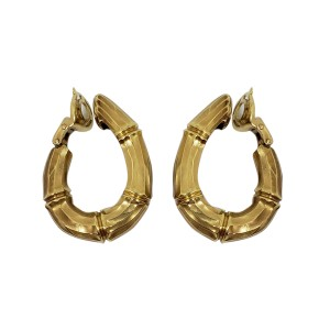 Cartier 18K Yellow Gold Earrings