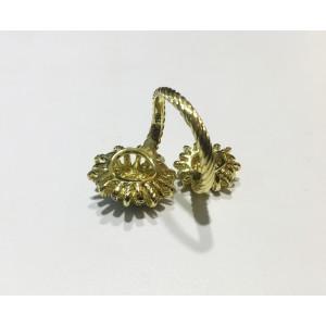 David Yurman Starburstcollection  18k Yellow Gold 0.44ct  Ring
