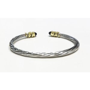 David Yurman Helena Collection Sterling Silver  Bracelet