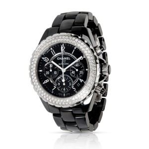 Chanel J12 H1009 Unisex Watch in  Stainless Steel/Ceramic