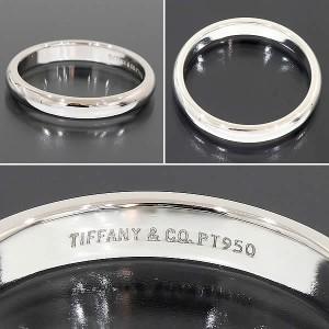Tiffany & Co. 950 Platinum Ring Size 6.75