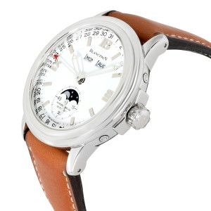 Blancpain LeMan Moonphase 2763.1127A.11 Men's Watch in  Stainless Steel