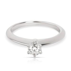 Tiffany & Co. Diamond Solitaire Engagement Ring in Platinum (0.24 CTW I VS1)