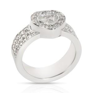 Chopard Happy Diamond Ring in 18K White Gold 1