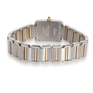Cartier Tank Francaise W51007Q4 Women's Watch in 18K Stainless Steel/Yellow Gold