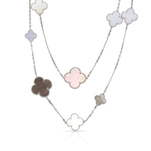 Van Cleef & Arpels Magic Alhambra Long Necklace, 16 Motifs