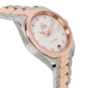 Omega Aqua Terra 150M 220.20.34.20.52.001 Unisex Watch in Rose Gold & Steel