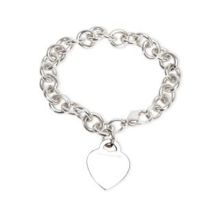 Tiffany & Co. Return to Tiffany Heart Tag Bracelet in Sterling Silver