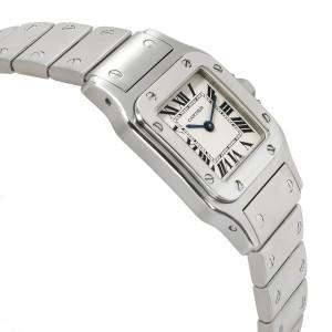 Cartier Santos Galbee W20056D6 Women's Watch in  Stainless Steel