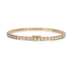 Cartier Lanieres Diamond Bracelet in 18K Yellow Gold 1.80 CTW