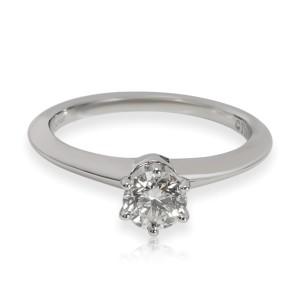Tiffany & Co. Solitaire Diamond Engagement Ring in Platinum H VS1 0.46 CTW