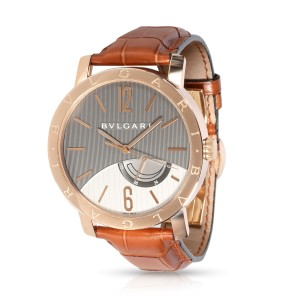 Bulgari Bvlgari Bvlgari BBP41GL Men's Watch in 18kt Rose Gold